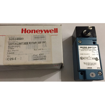 Honeywell LS3AK Micro Switch Limit Switch Sid Rotary 600VAC