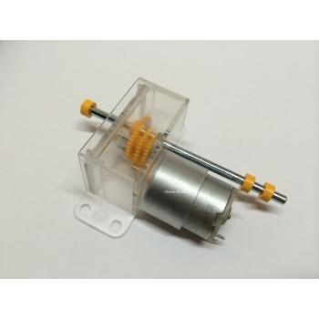 1.5V-6V DC Clearbox Gearbox & Motor,Suitable for Meccano/Fischertechnik 370161