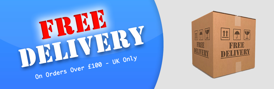 Free Delivery on Orders over £100